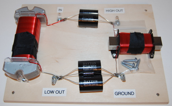 tonewheel general hospital - speakers : crossovers - hammond organ and leslie  speaker parts